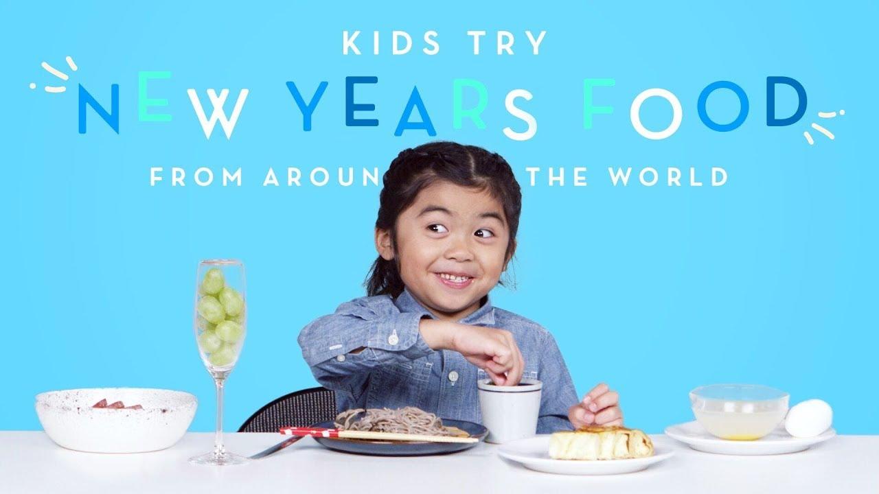 世界各地新年都吃什麼?小朋友先來幫你試吃!