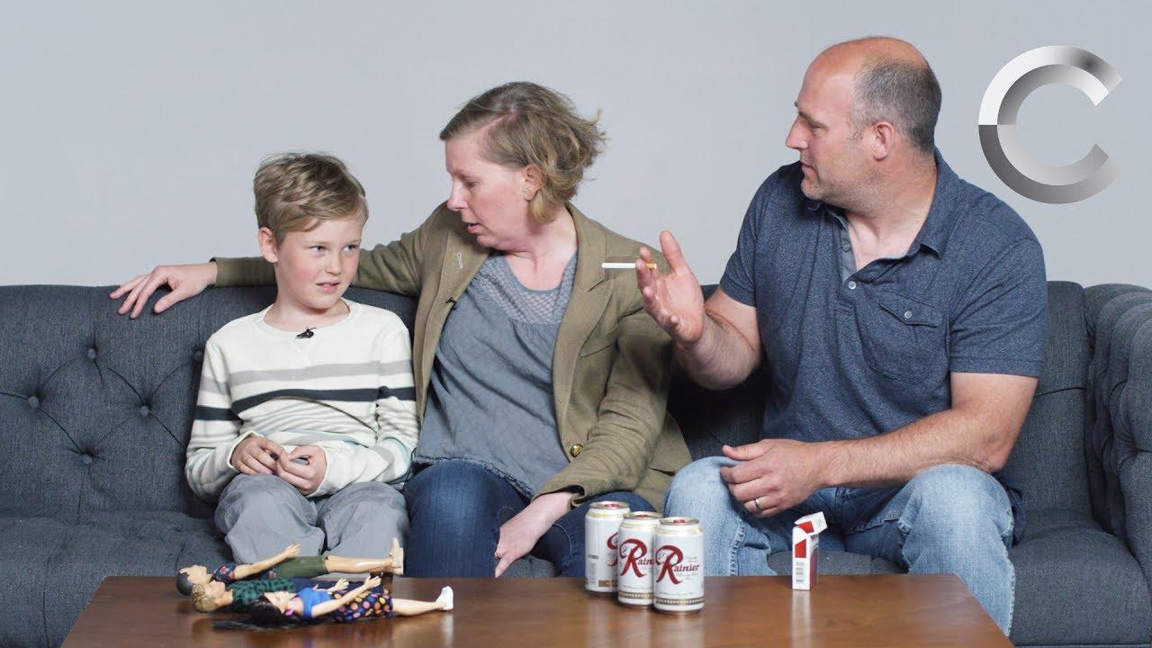 爸媽跟小孩解釋『同儕壓力』,小孩的反應是?