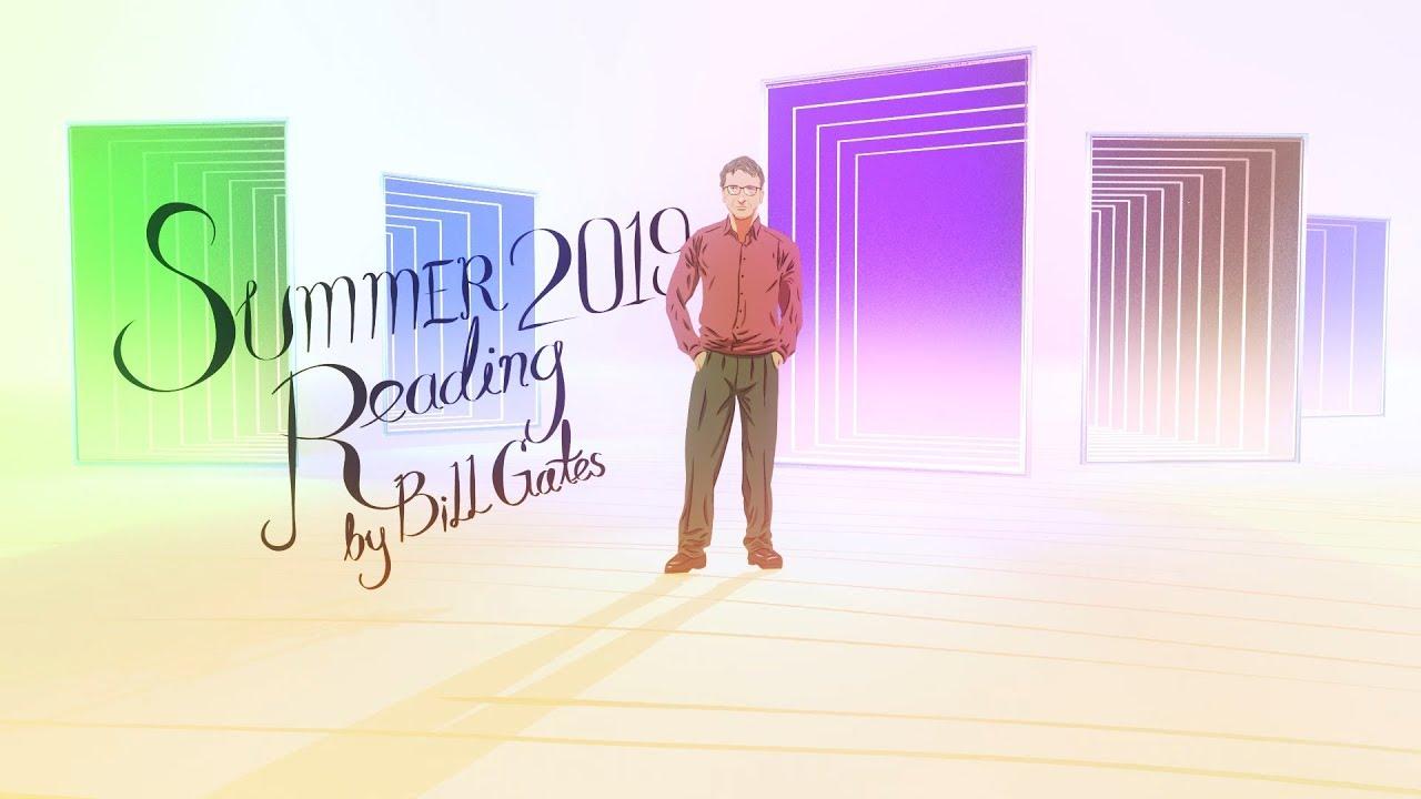 比爾蓋茲的 2019 夏日閱讀書單