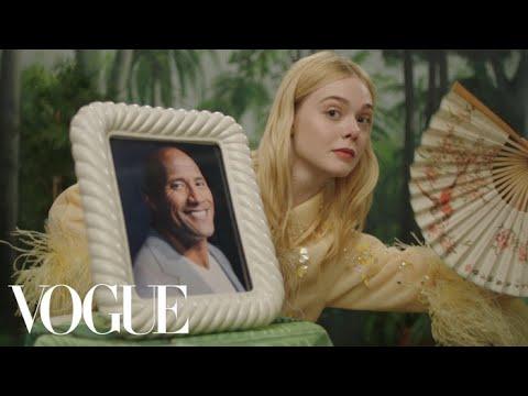 《黑魔女》公主 Elle Fanning 與 Vogue 合拍超荒謬影片!