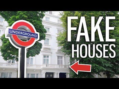 倫敦中心區竟然大搖大擺蓋了兩棟假房子?!