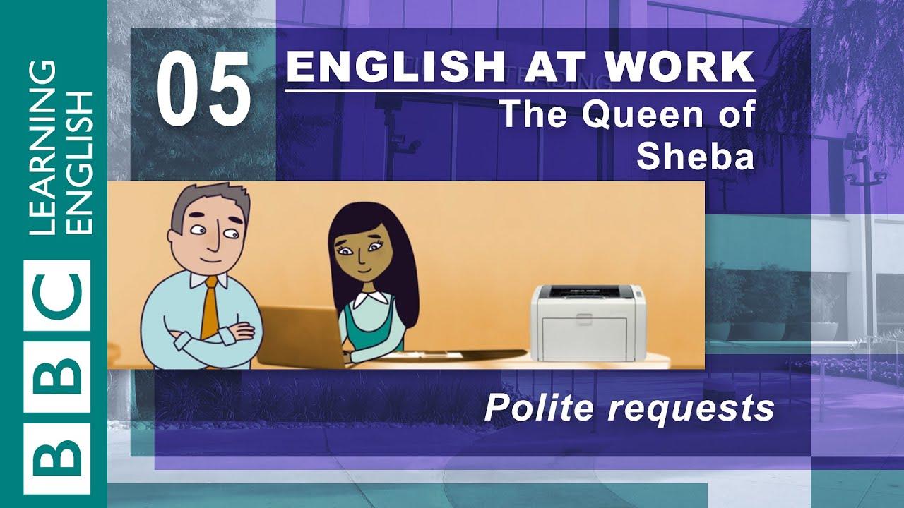 超實用商業英語會話,學會有禮貌請求別人幫忙!