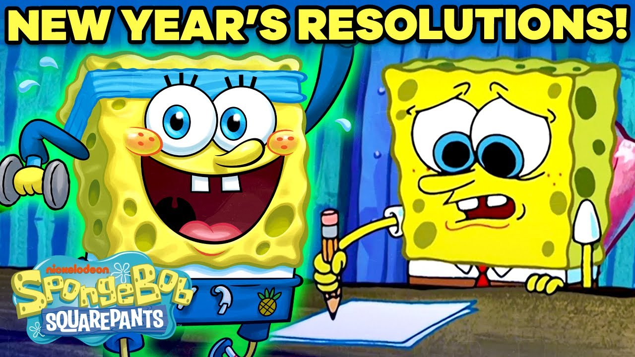 《海綿寶寶版》新年新希望!