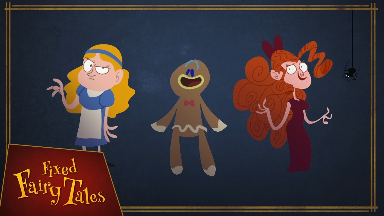 【童話故事這樣才對嘛】三隻熊、薑餅人的故事這樣才合理吧!